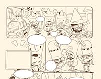 comics at basim magazin 7 pages