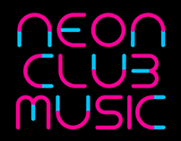 TYPOGRAPHY | FONT – Neon Club Music