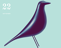 Charles & Ray Eames Museum Exhibition | Poster & Inv.