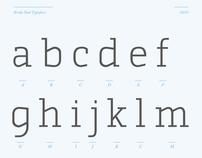 Brida Slab Typeface