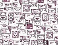 Valentines Day illustration/product design