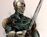 Cyrborg Ninja Gray Fox Metal Gear Solid