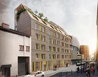 Housing competition, Buzenval street_Paris_France