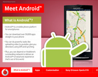 Vodafone - Android Launch Creative