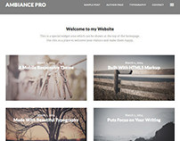 Ambiance Pro – Portfolio / Photography Showcase Theme