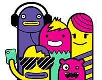 "Pictoplasma Character Selfie - ""Queers&Freaks"""