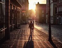 Winter Sun in the Stary Rynek