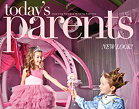 Today's Parents Feb/March 2014 Issue (Fashion Spread)