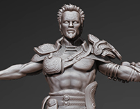 Wizard Warrior - ZBrush