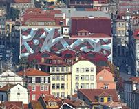 "MURAL ""Continuidade"" | Porto, 2017"