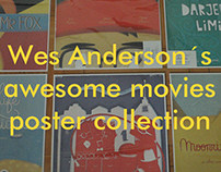 Wes Anderson ´s movies Poster Collection