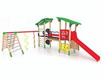 Playground accessories 3d - 2010