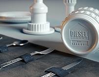 Diesel decor modeling