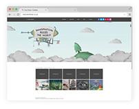 Imagination Rules the World - Portfolio Website