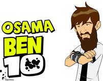 "Osama Ben 10 ""Al Qaeda Cartoon Network"""