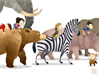 Wild Adventure - Print Series