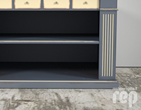 Bookcase Classic Style