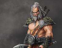 Diablo III Fan Art Contest - Barbarian