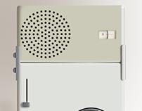 Braun TP1 Radio