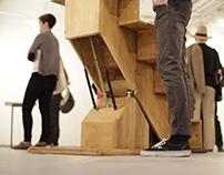 Lépcső-libikóka // Stairs teeter-totter