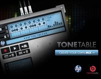 Hp Tonetable App On Behance