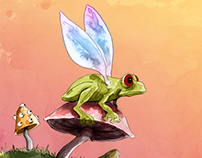 Oliver's Travels: Flying Frogs