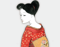 Artist: Art Series, 'Geishas'