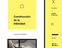 EXPOSICIÓN - Construcción de la intimidad