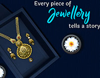 Nakshatra Jewelry Banner Design   Advertising