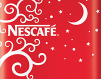 Nescafe. Giftbox. Packaging design