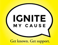 Ignite My Cause Brand Identity