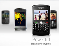 Blackberry Website Redesign