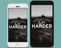 Typography Wallpapers for Mobile