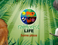 London Zoo 'Rainforest Life' - Interactive Microsite