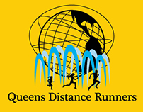 Queens Distance Runners logo