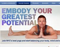 Sonic Yoga Website