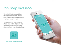 Shopic - iPhone App and Website (Student Project)