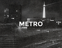 Metro - Poster and program