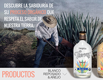 Tequila Tierras, Website