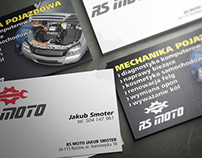 RS MOTO Business Card