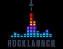 RockLaunch Music School Logo
