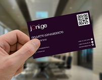JONI.GE Business card