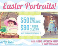 Advertisements for Carly Hall Photography & Designs
