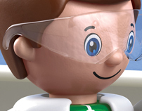 3D Toy Characters - Advertising Imagery