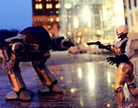 RoboCop Action Figure Photography