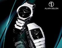 Alain Delon (Malaysia) print ad.