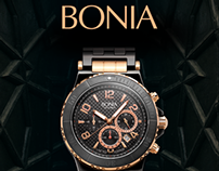 Bonia (Malaysia) print ad.