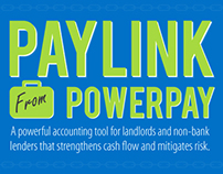 Paylink From PowerPay - Responsive Infographic