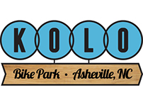 Kolo Bike Park logo design