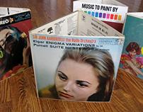 Album trash receptacles